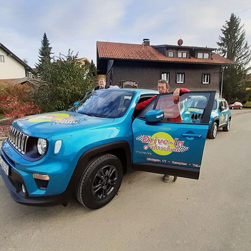 Fahrschule Drive-In - Kempten - Fahrzeuge 2021 - Jeep